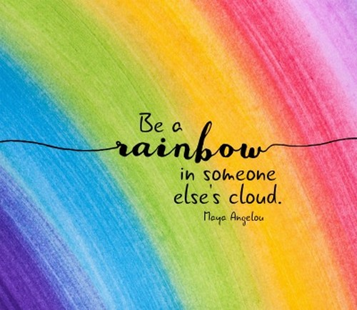 Rainbow Quotes - lovequotesmessages